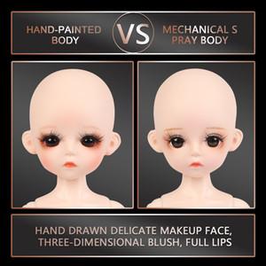 30CM corps nu BJD Doll 1/6 BJD 25 parties peuvent être supprimées sans boule Articulé corps Tenues De Filles Poupées de maquillage 1011