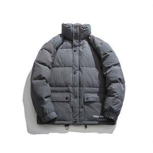 Xinchen 2020 inverno garotos verticais colarinho quente manga longa espessada