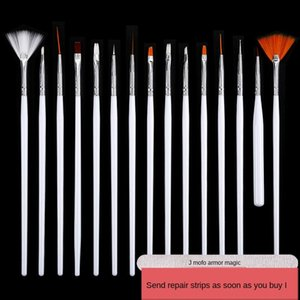 PVSi0 Manicure set pen collection carved colored drawing drawing point gradient painting phototherapy polishing Manicure diamond Diamond sti