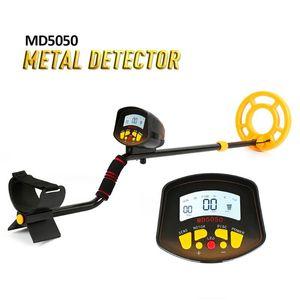 Display LCD à prova d'água Gold Digger Mining Industry Detecção Início portátil Ferramenta Treasure Localizador de Metal Detector de Alta Sensibilidade