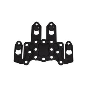 Molle Speed Clip Platform Ambidextrous Holster Rail Case Mount Cqc Hunting Holster Adapter Gun Accessories