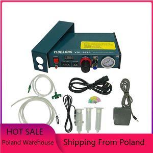 Semi-Auto Glue Dispenser PCB Solder Paste Liquid Controller Dropper Fluid Glue Splitter Tools Machine YDL 983A