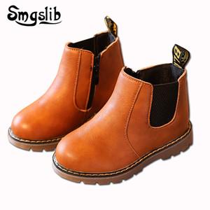 Smgslib Дети Boots Vintage теплый водонепроницаемый голеностопного Дети Мальчики Девочки Резиновые сапоги Детские Мягкие Открытый Девочки Сапоги ShoesX1024