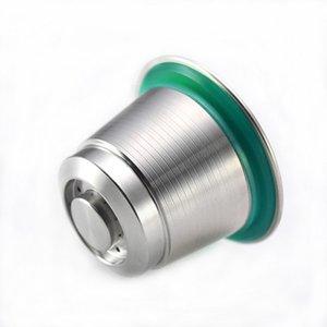 Paslanmaz Çelik Kahve Kapsülleri Kullanımlık Nespresso Kapsüller Nespresso-U Pixie Maestria GWF4114 gibi makinelerle uyumlu doldurulabilir bakla
