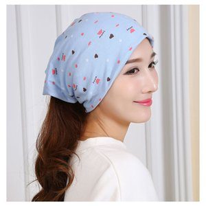 Confinement hat warm and windproof cotton pile hat for pregnant women