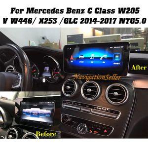 10,25 pollici Android 10.0 Auto DVD Player Car Stereo Navigation per Mercedes Benz C W205 2015-2017 Supporto Carplay Wifi GPS BT Radio MirroLink