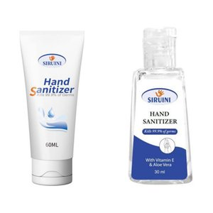 In Stock Siruini Hand Sanitizer With Vitamin E 30ml 60ml 240ml Wash Free For Home Office Dhl Free