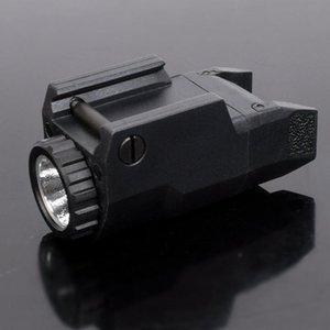 الاتفاق APL المسدس التكتيكي ضوء ثابت / حظية / ستروب LED الضوء الأبيض على القضبان