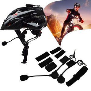 Cascos Cascos Auriculares Bluetooth para cascos para bicicletas ultraligidos Unisex Road Road Mountain Bike Deporte Auriculares Estéreo Auriculares inalámbricos
