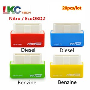 20pcs lot EcoOBD2 Chip Tuning Box For Diesel With Retail Box EcoOBD2 Economy Plug and Drive OBD2 Up to 15% fuel savings