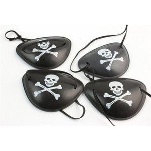 Kafatası Yetişkin Korsan Korsanları Göz Patch Karnaval Cadılar Bayramı Kostüm Partisi Çocuk Çocuk Oyuncak Craft Hediyeler için Crossbone Maske