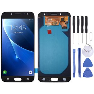 Oled Material LCD Screen and Digitizer Full Assembly for Galaxy J7 J730FDS J730FMDS