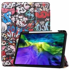 High Quality IPad Case For Pro11 2020 2018 10.2 Pro10.5 air3 iPad 9.7 5 6  Shell Fashion Pattern 10-Style Available