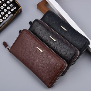 New style men's long wallet wallet wallet business leisure multifunctional man's handbag