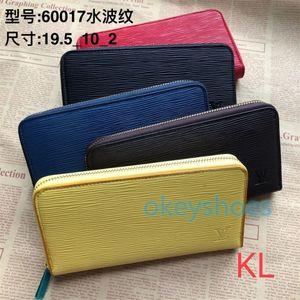 125 WalletLOUISWomenVUITTONLVGenuine Leather Handbags Purse Men Zippy Zipper Wallet Bags Clutch Awesome