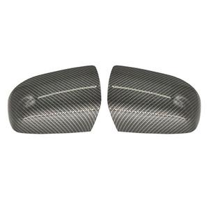 1 пара высокого качества ABS Auto Side Mirror Обложка для F-ога F-MK2 Covers сфокусироваться вначале 2005-2006 Carbon Look Аксессуары заднего вида