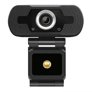 Webcam Full HD 1080P PC Laptop Desktop Desktop USB Webcam Built-in Built-Definition Computer Camera Telecamera Free Drive Live Web Cam1