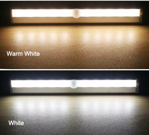6 10 LEDs PIR LED Motion Sensor Light Cupboard Wardrobe Bed Lamp LED Under Cabinet Night Light For Closet Stairs Kitchen