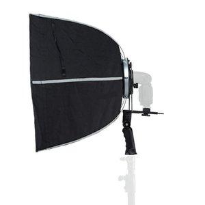 Freeshipping foldable 퀵 셋업 Softwox Hexagon Light Mount와 Speedlite Photographic Studio 액세서리