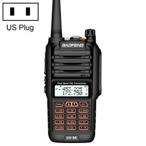 Baofeng BF-UV9R 5W Waterproof Dual Band Radio Handheld Antena Walkie Talkie EUA plug