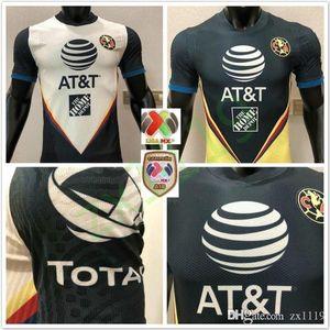 2020 Version du joueur LIGA MX Club America Soccer Jerseys 20/21 America Team Mateus Giovani O.LaineZ P.Guilar Chemise de football Uniforme