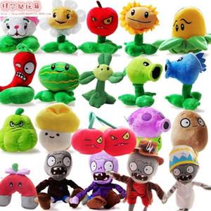 20 estilos Plants vs Zombies 2 relleno de la felpa juguetes muñeca de 13-20cm Plants vs Zombies PVZ plantas de juguete de felpa suave para los niños regalo de los niños