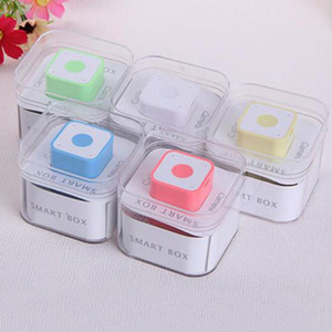 Portable Mini Bluetooth Built-in Speaker Smart Sound Box Support 16G TF Card Outdoor Digital USB Square MP3 Music Player For iPhone