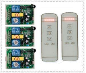 Motor garage door   projection screen   shutters AC 220 V RF Wireless Remote Control switch Digital display intelligent