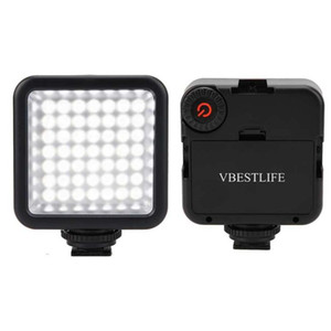 Luz Painel VBESTLIFE 49 LED On Camera portátil Regulável Luz de Vídeo de Fotografia Lighting telefone ringlight