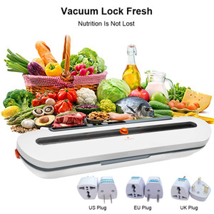 Vacuum Sealer упаковочная машина Вакуумная хранения продуктов запайки Vacuum Sealer Packer Бытовая 110V 220V Для дома Кухня