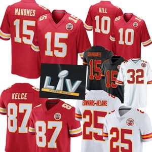 15 Patrick Mahomes 87 Travis Kelce Jersey Kansas.