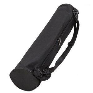 Yoga Mat Çantası Taşınabilir Tuval Yoga Mat Taşıma Omuz Çantası Pilates Egzersiz Pad Taşıyıcı Su Geçirmez Backpack1