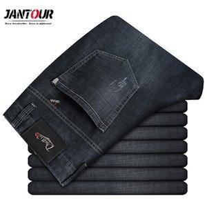 Jantour masculinos Jeans Hombres Jean Homme hombres clásicos del motorista holgada Denim Hombre Denim Pantalones alta calidad del diseñador de moda grande del tamaño 29-40