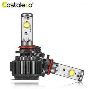 Castaleca Car Turbo LED Headlight V16 Auto Headlamp H4 H7 H1 H3 H18 H11 H13 9005 9006 880 881 EMC Canbus Lights Kit1