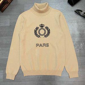 Sweater Mode New hiver Pulls Hommes avec modèle de lettre de style européen et américain Mens Sweatershirt Taille M-3XL