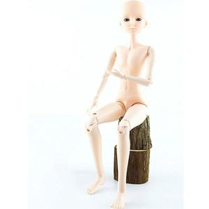 Atacado 21 Mobiliário Juntido BJD Bonecos Macho Brinquedos Com 3D Eyes 60cm Nu Nu Nude Cabeça Body BJD Bonecas Brinquedo Para Meninas Presente de Natal T200712