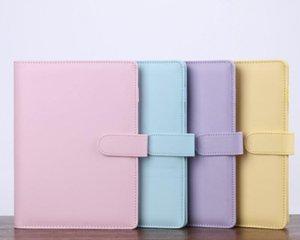 2020 Magic Libro Bloc de notas Lindo A6 Multi Colors Cuaderno Secure Supide Supplies PPD4113