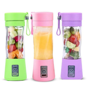 portable usb electric fruit juicer handheld vegetable juice maker blender rechargeable mini juice making cup with charging cable bh1741 l0b