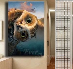 Wholesale Diamond Painting Owl Animal Full Square Drill 5d Diy Cross Stitch Decor Diamond Embroidery Pictu bbyUxN yh_pack