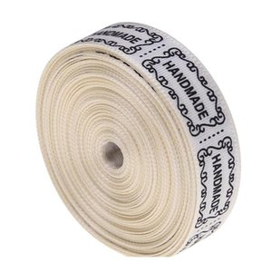Handmade Cotton Love Ribbon Clothing Tape Label Diy Handmade Bowknot Sewing Accessories Home Decoration Handmad bbyGAS