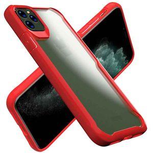Абонепроницаемый чехол для iPhone 11 5.8inch 2019 Case Роскошный прозрачный силиконовый TPU и PC Phone Case для Apple XS X XR 7 8 6 11 Pro Max Cover