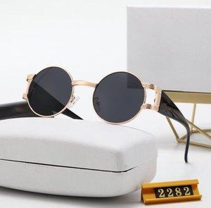 패션 선글라스 좋은 품질의 태양 남자에 대 한 여자 편광 렌즈 가죽 케이스 옷감 상자 액세서리,