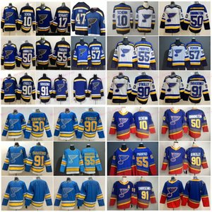 47 Torey Krug St. Louis Blues hockey jerseys 91 Vladimir Tarasenko 90 Ryan O'Reilly 50 Binnington 55 Colton Parayko Schwartz David Perron