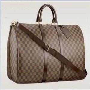2020 new luxury fashion men women travel bag duffle bag designer leather luggage handbags large capacity sport bag free shipping