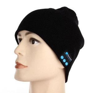 Winter Bluetooth USB Rechargeable Music Headset Warm Knitting Beanie Hat Cap