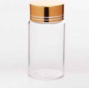 500pcs lot 50ml High-quality screw neck glass bottle for vinegar or alcohol,storage candy bottles