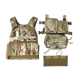 Tmc3171-Mc Lightweight Tactical Vest Full Set SS Chest Hanging Imported Fabric
