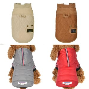 New autumn and winter dog clothes dog vest cold warm dog clothes party ski outdoor