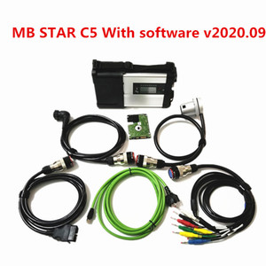 MB Star C5 sd connect car scanner tool C5 mux diagnostic full chip with wifi function v2020.09 soft-ware
