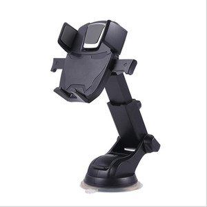 Universal Cell Phone Car Mounts Holders 360° Rotating Windshield Desktop Brackets for iPhone Samsung Huawei Foldable Retractable